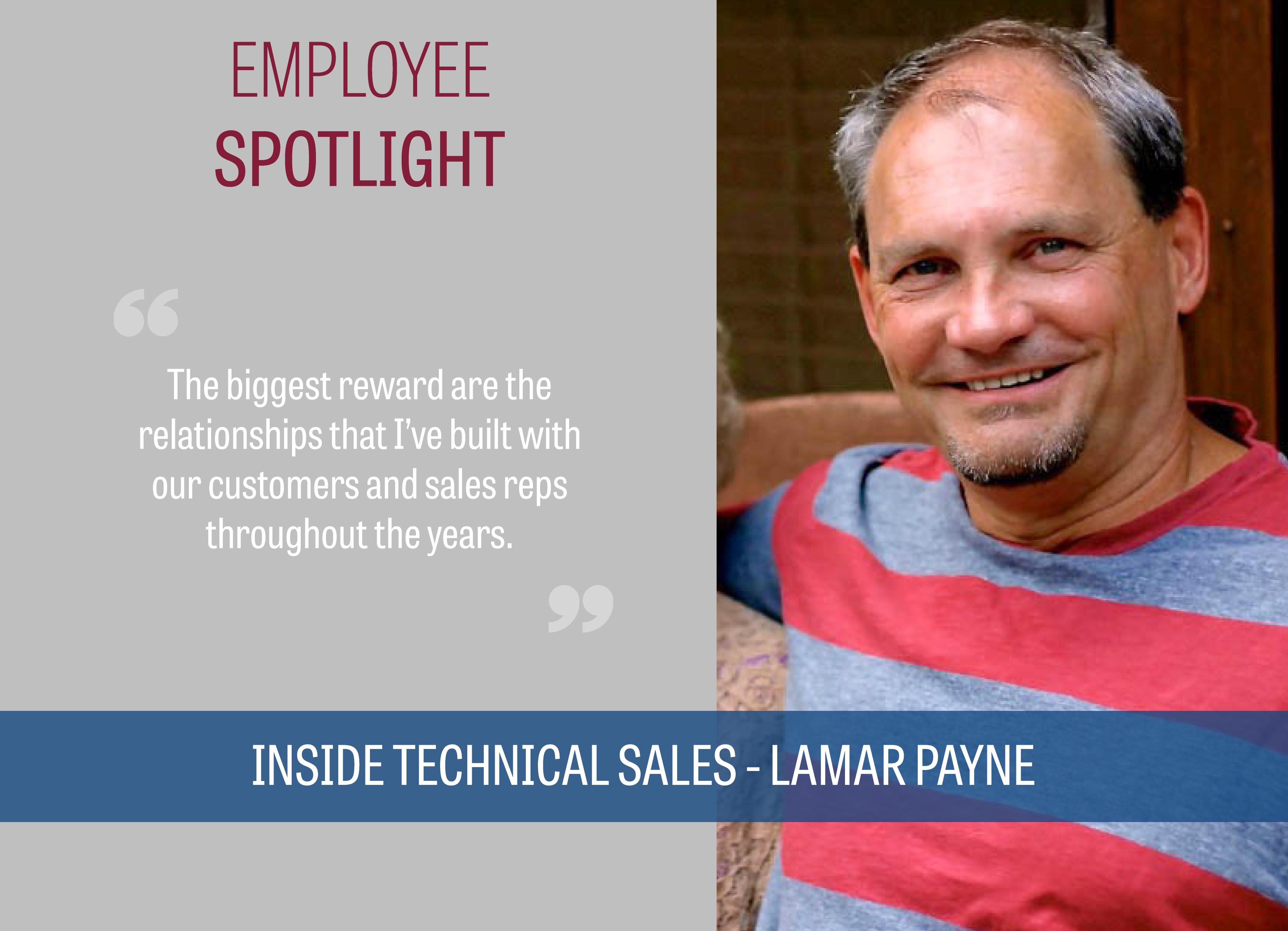 BBP Employee Spotlight Lamar Payne