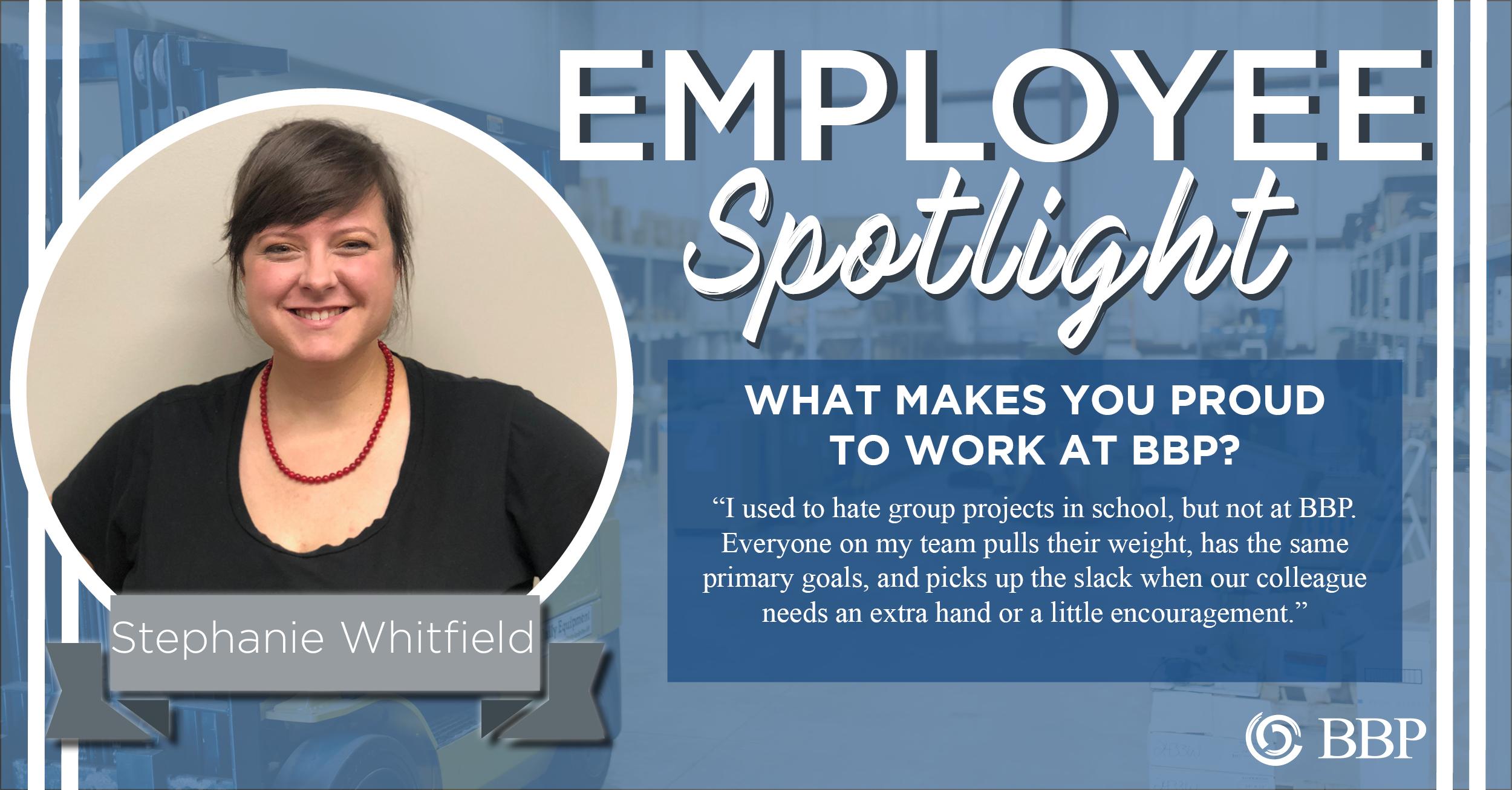 employee spotlight stephanie