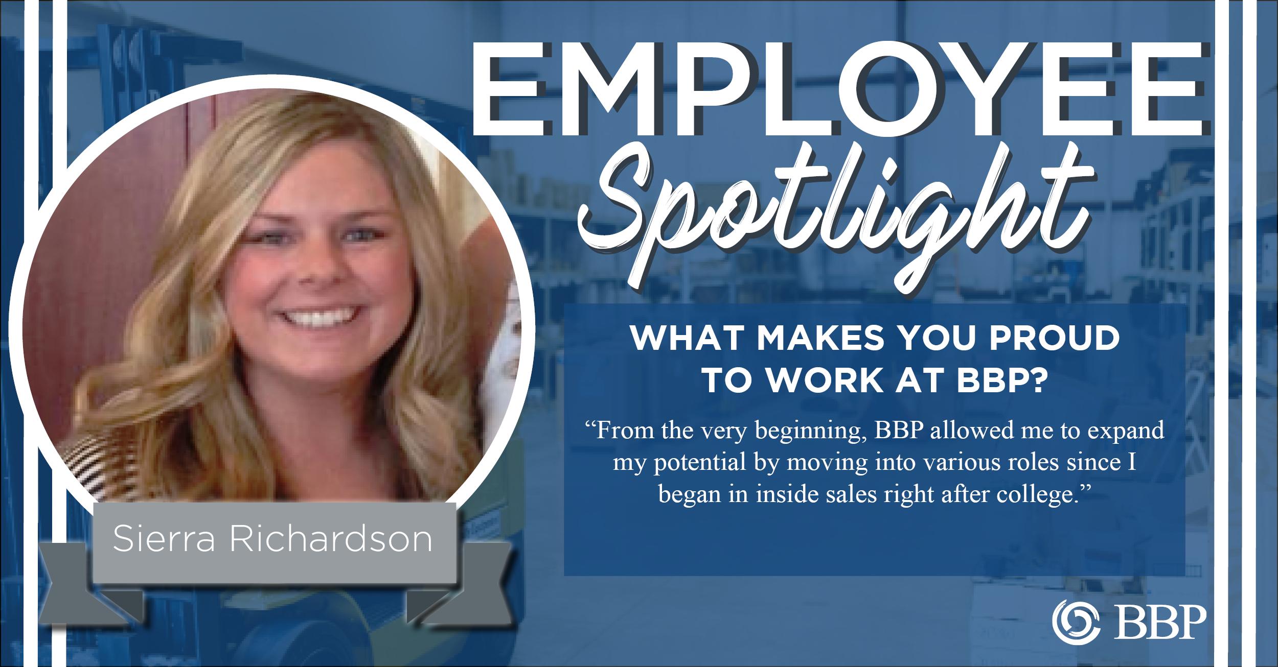Sierra Richardson Employee Spotlight
